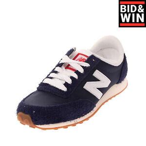 NEW BALANCE 410 Sneakers EU 37 UK 4 US 4.5 Contrast Leather Logo Padded Topline