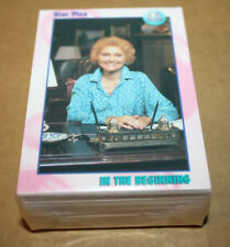 1991 Star Pics All My Children COMPLETE SET of 72 Cards - PLUS 1 SEALED PACK