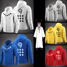New Cosplay Anime Naruto Six fairy Sweatshirt Unisex Hoodie Jacket Coat Gifts