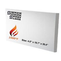 Glass Fiber Braided Heat Resistant Upto 1100F Fireplace Door Gasket Replacement 15mm x 5 Meter Round Refractory Ceramic Fiber Rope