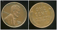 USA  one cent  1951 D