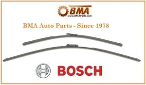 OEM Bosch Front Windshield Wiper Blade Set F/Mercedes GL450 ML350 R320 R350