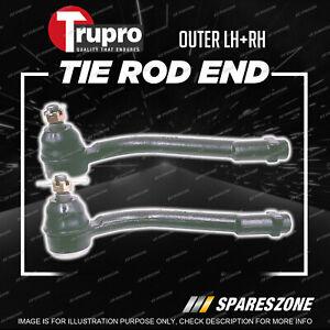 2 Pcs Trupro Outer Tie Rod Ends for Kia Sorento XM Wagon 4WD 10/2009-2015