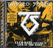 Twisted Sister Club Daze Volume 2 CD Erstauflage  Spitfire 1999 Desperado Snider