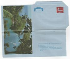 1960's JAMAICA Aerogramme Cover Stationery UNUSED Lagoon Port Antonio Issue 6d