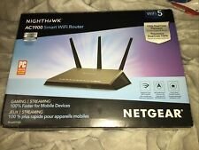 NETGEAR R7000-100PAS 1300 Mbps 4-Port Gigabit Wireless Router R7000-100PAS New