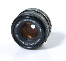 OBJECTIF CANON 1,8/50mm CANON FD CANON AE-1 A-1 AE1