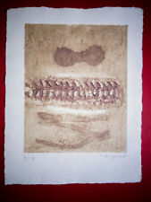 Rare French James Coignard - Untitled Etching - Signed - Limited 4/4