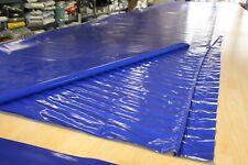 2,65€/m² Plane Abdeckplane PVCHolzplane B-Ware 680gr/m² blau 3,00m/10,00m