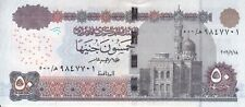 EGYPT 50 POUNDS EGP 2016 P-66 SIG/T.AMER #22 REPLACEMENT 500 (SPACE OUT ) UNC */
