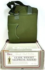 Orvis Guide Weight 4MM Neoprene Stocking Foot Waders Mens Size L NOS 30