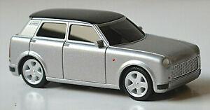 Trabant Newtrabi Concept Vehicle 2009 Silver Metallic 1:87 Herpa 033916