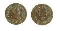 s1130_13)  Louis XIII - Double tournois 1613 D Lyon