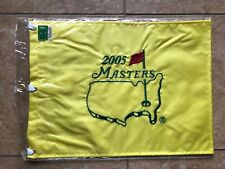 2005 MASTERS FLAG Golf Pin Flag PGA Official Embroidered