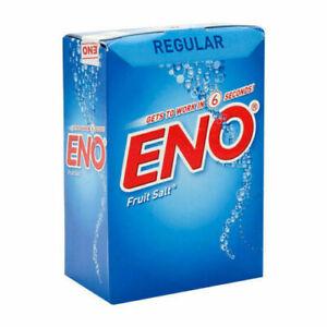 ENO Fruit Salt Regular Flavor 30 Sachets 5 gm Each Shipping Free