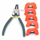 Pliers With Soft Pinless Chicken Peepers Pheasant Poultry Blinders Spectacles DD