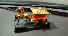 Perfume bottle orient 4wheels carriage air fresher vehicle interior office desk