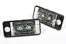 Audi A3 S3 A5 S5 A8 S8 RS5 Genuine LED License Plate Lights Rear Lamps PAIR OEM