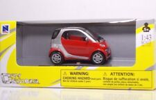 "NewRay 19007 SMART ForTwo ""Red"" - METAL Scale 1:43"