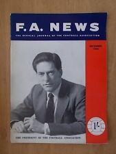 F.A. NEWS JOURNAL OF THE FOOTBALL ASSOCIATION DECEMBER 1964 F.A. PRESIDENT