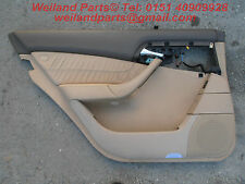 Mercedes-Benz S-Klasse W220 AMG Türverkleidung Türpappe Leder Nappa hinten links