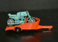 VINTAGE LESNEY ENGLAND DIE CAST MATCHBOX SERIES NO. 38 HONDA MOTORCYCLE TRAILER