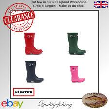 CLEARANCE: Hunter Original Kids Wellington Boots