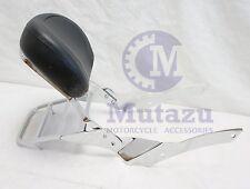 Mutazu Backrest Sissy Bar w/ Luggage Rack for Yamaha V Star 650 Custom only
