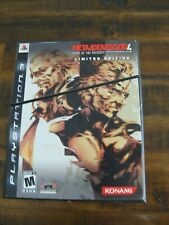 Metal Gear Solid 4: Guns of the Patriots - Limited Edition  PlayStation 3