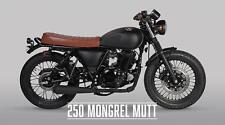 MUTT MONGREL 250CC A2 LICENSE RETRO SCRAMBLER GEARED MOTORCYCLE MOTORBIKE
