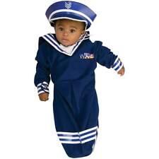 Boys Infant Newborn SAILOR Bunting with Headpeice Costume