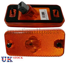 2x Side Marker Lights Lamps Amber for FIAT Ducato (Maxi) 2009> E4 Marked 24V