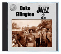 "DUKE ELLINGTON premiering ""Blues For New Orleans"" in 1970 in New Orleans, on CD"