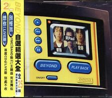 BEYOND - PLAY BACK - Taiwan 2 CD - NEW PLAYBACK Hits Paul Wong Steve