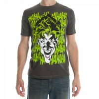 Batman Joker Mens Charcoal Heather T-Shirt