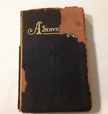 A Service Book Copyrighted 1925 by The National Selected Morticians Poems/Prayer