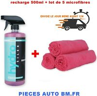 Hydrosilex Recharge 500ml protection ceramic hydrophobe + 5 microfibres