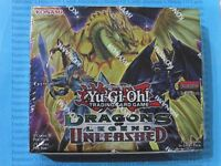 Yu-gi-oh Dragons of Legend: Unleashed DRL3 Booster Box New Sealed English 1st Ed