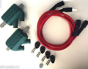 Dyna Ignition Coils 3 ohm Dual Output DC1-1 Red Wires DW-300 Honda GL 1000