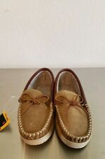 Cabela's Suede Leather Upper Men Slip on Loafers Shoes Casual Size 9W Thinsulate