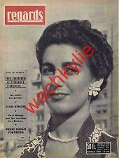 Regards n°396 du 09/1955 Argentine Péron Jean Renoir Dudan chanson du forgeron