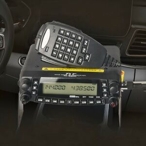 TH-9800 Mobile Radio Quad Band 50W Car Transceiver Walkie Talkie Dual Display