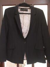 Zara Jacket.  Black.  Size 12.  Used.