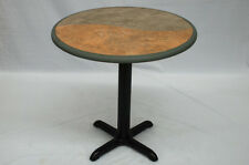 "NEW dining table with base pub club bar cafe restaurant wedding 30"" diameter"