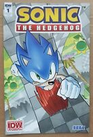 Sonic the Hedgehog #1 Comic - 2018 (NYCC) Convention Exclusive Variant