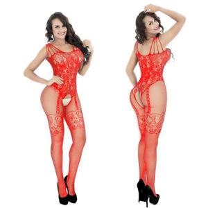 New Women Lady Sexy Lingerie Bodystockings Fishnet Babydoll Nightwear Sleepwear
