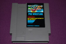 PRO WRESTLING European Version - Nintendo - Jeu Catch NES DAS FRG