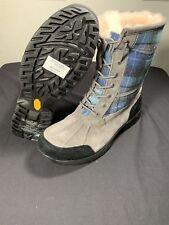 Mens UGG Butte Vibram All-Weather Winter Boots Blue Surf Plaid Size 12
