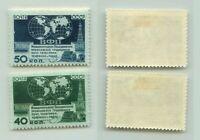 Russia USSR ☭ 1950 SC 1447-1448, Z 1424-1425 mint. e6535