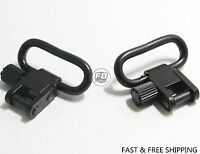 "NEW Gun or Rifle Sling Quick Detach 1"" Swivel Set 2pcs"